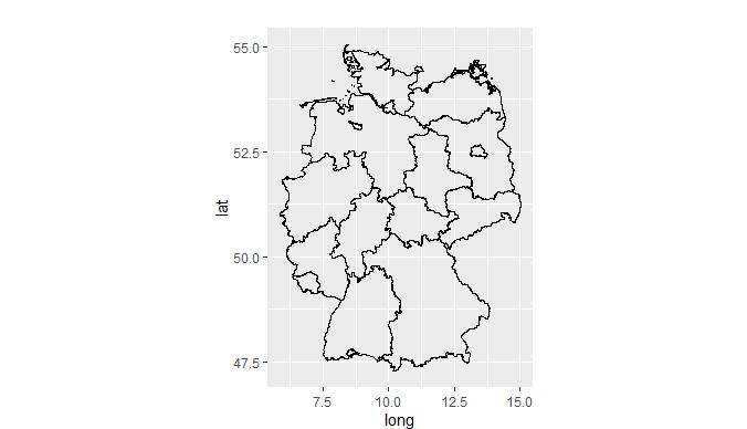 Karte der Bundesländer